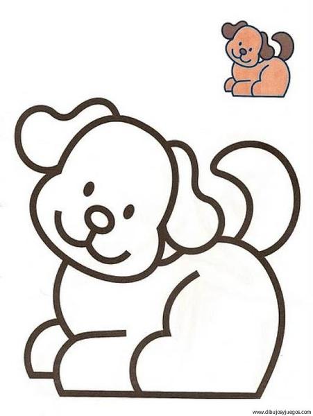 Dibujos para colorear para niños de 2 años - Imagui