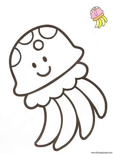 pulpo-01 | Dibujos y juegos, para pintar y colorear