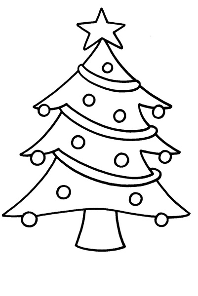 navidad arbol 01jpg - Dibujos Arboles De Navidad