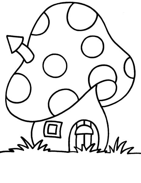 seta-01 | Dibujos y juegos, para pintar y colorear