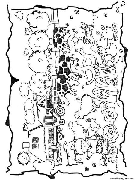 dibujo-primavera-005 | Dibujos y juegos, para pintar y colorear