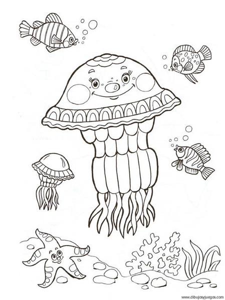 Medusa Dibujos Y Juegos Para Pintar Y Colorear