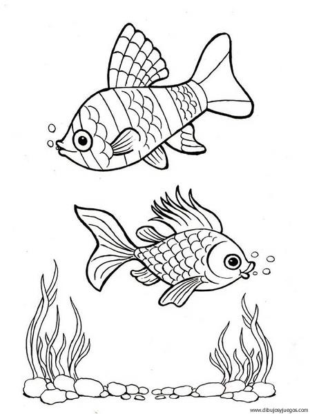 dibujo-de-pez-120 | Dibujos y juegos, para pintar y colorear
